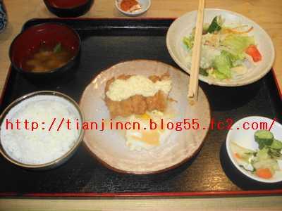 チキン南蛮定食@飯屋橋場1