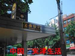 ソウル地下鉄3号線独立門駅3