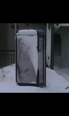 冷凍公衆電話