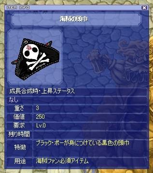 海賊の頭巾