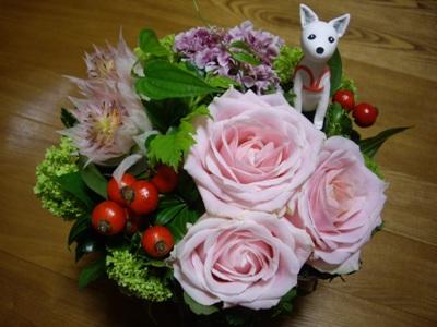 マルコさんからお花