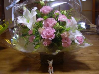 ユリファさんからお花