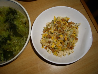 納豆炒飯2