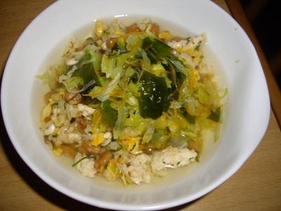 納豆炒飯3