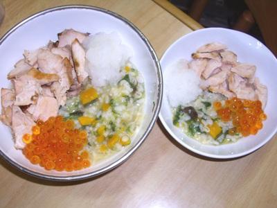 鮭いくら丼1