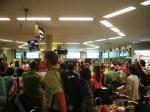 チェンマイ空港の賑わい