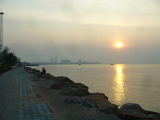 P1360624Pataya sun set