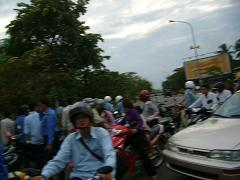 traffic jam in PhnomPenh