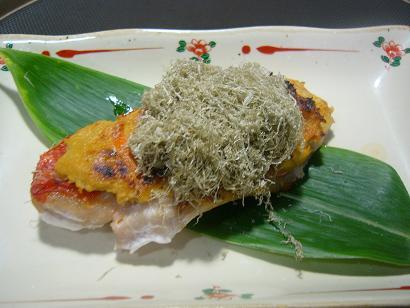 金目鯛の灘焼き1 (1)