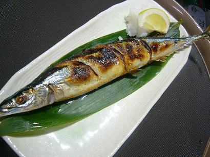 サンマ塩焼き2 (2)