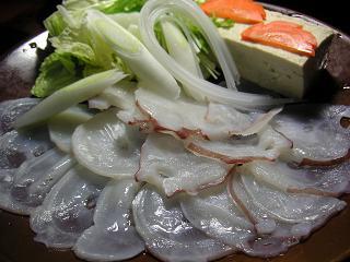 生蛸しゃぶしゃぶ1 (4)小