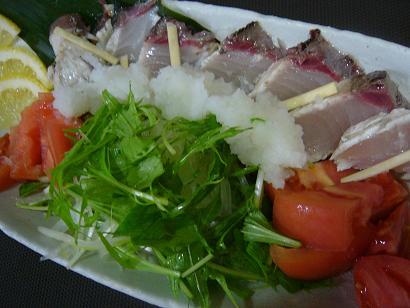 寒ブリポン酢サラダ1 (1)