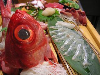 金目鯛お造り1 (3)小