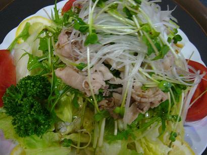黒豚サラダ3 (2)小
