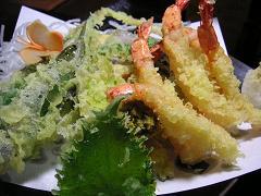エビと野菜の天ぷら1 (6)小