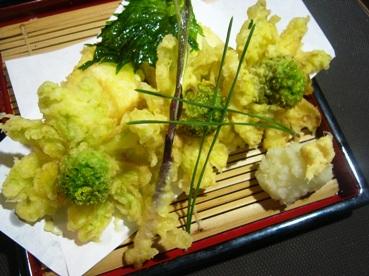 湯葉豆腐とふきのとう (1)