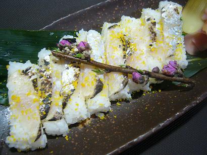 太刀魚押し寿司2