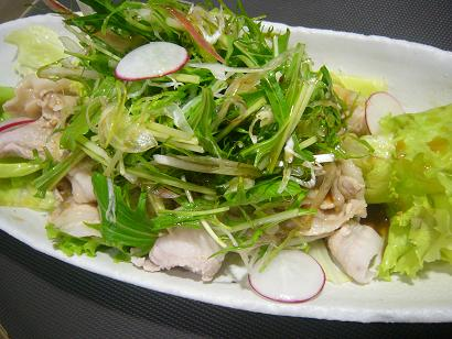 香味野菜と豚シャブ2