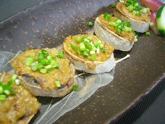 山芋のネギ味噌焼き1 (1)