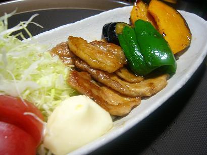 芋豚と新潟松之山の野菜 (2)小
