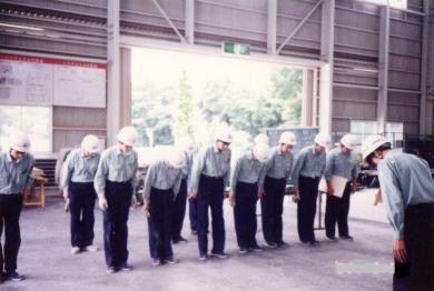 滋賀県湖東町のナショナル住宅現場監督研修