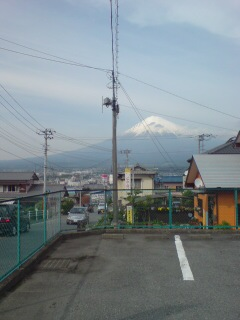 浜松市からの富士山4