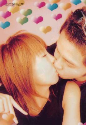 萩原舞と北島康介ラブラブキスかよ?