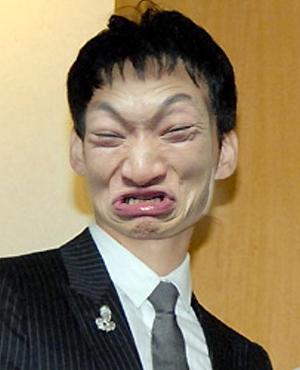 面白画像:草薙剛君は反省してます!