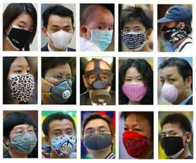 インフルエンザのマスク無修正画像
