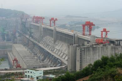 中国 三峡ダム無修正画像