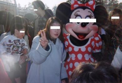 Hitomiとディズニーランド完全無修正写真1
