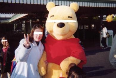 Hitomiとディズニーランド完全無修正写真2