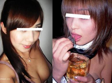 パブ嬢のセクシーショット!完全無修正写真画像!!!