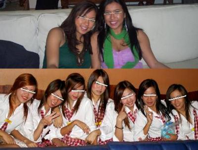 フィリピンパブ嬢たちの完全無修正写真画像