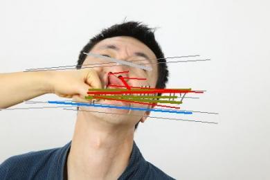 Ogataに殴られる無修正画像