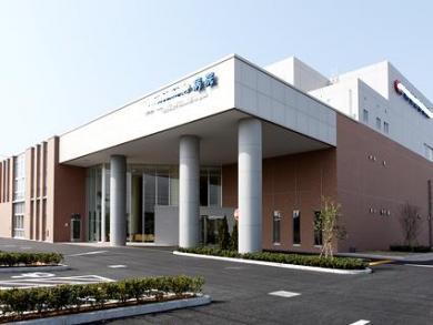 設計事務所で設計補助した病院
