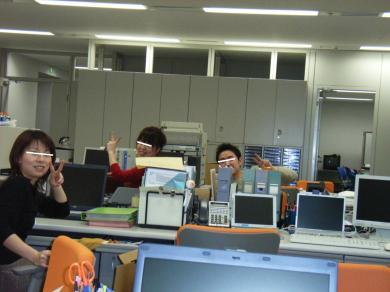 昼間の設計事務所内風景・・完全無修正マル秘写真画像