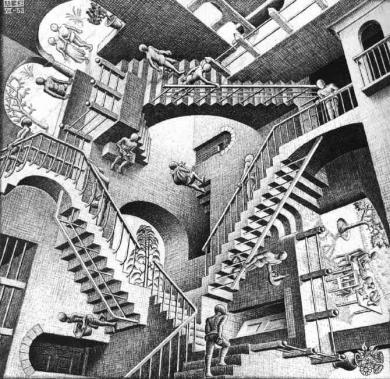 不思議な階段:面白図形.完全無修正マル秘写真画像