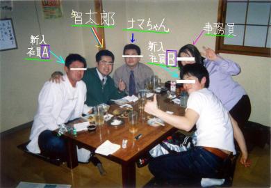 御殿場市内:居酒屋にて新入社員歓迎会を 完全無修正写真画像