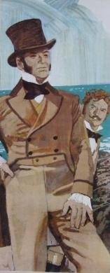 巌窟王:紙芝居 モンテ=クリスト島へ再び行く 完全無修正写真画像