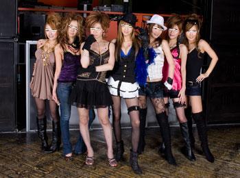 御殿場市内のキャバクラ嬢たち完全無修正写真画像