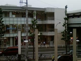 横浜市 藤が丘駅隣接ビル新築工事  ビル風景 完全無修正写真画像