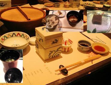 佐賀県の美味しい「梅の花」:懐石料理と豆腐料理の写真画像