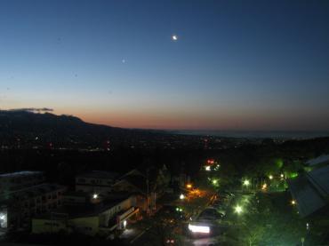 帰りがけに撮った!群馬県伊香保温泉の夜景です!完全修正写真画像