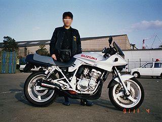 バイク suzuki カタナ完全修正写真画像