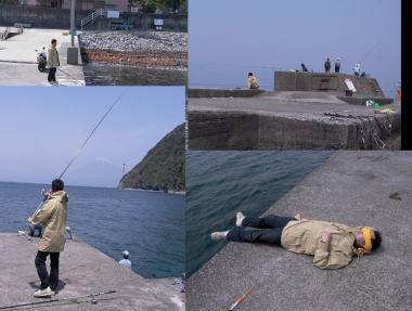 沼津市の井田で釣り完全無修正デジカメ写真画像4