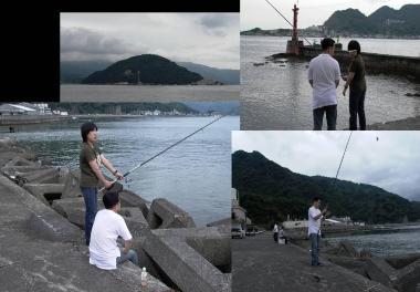 沼津市の口野にて釣り完全無修正デジカメ写真画像