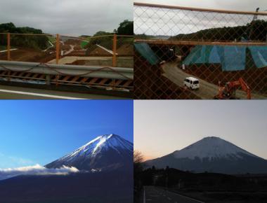 御殿場市付近の富士山デジカメ写真