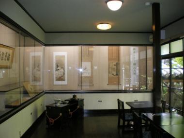新井・書画展示室デジカメ写真画像