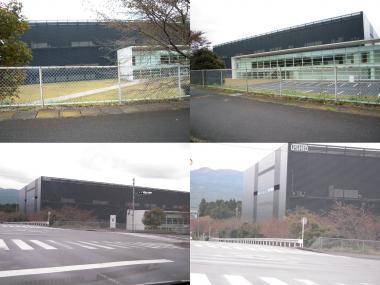 戸田建設施工のウシオ電機研究棟完工後完全無修正デジカメ写真画像